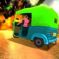 Mountain Auto Tuk Tuk Rickshaw : New Games 2021 on 9Apps