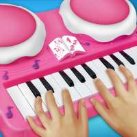 Real Pink Piano For Girls - Piano Simulator on 9Apps