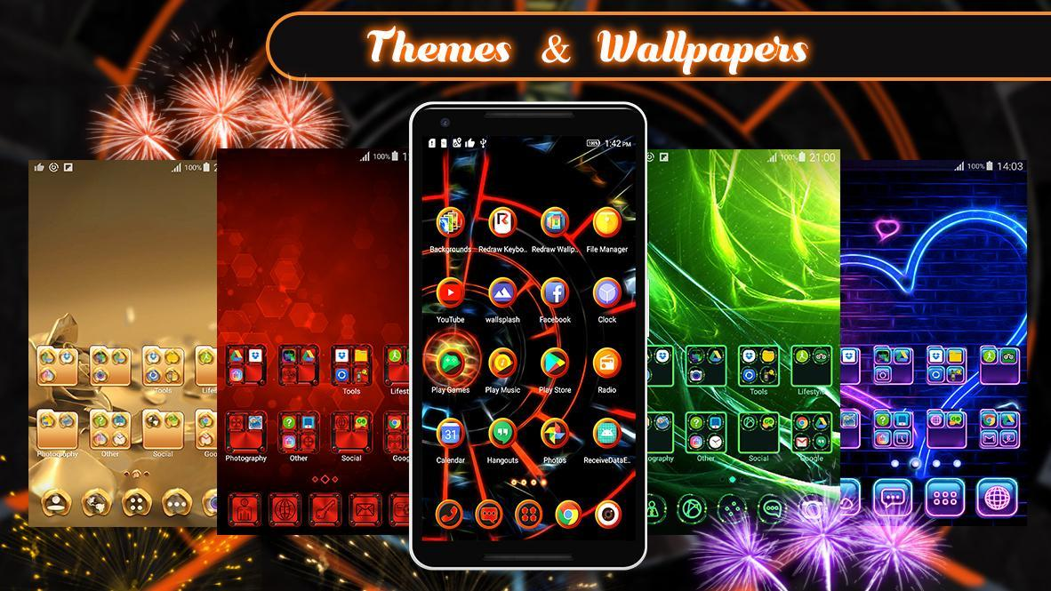 3D 2020 Theme For Android screenshot 1