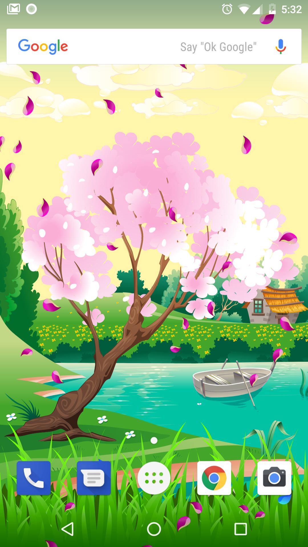 Spring and Easter Live Wallpaper + Tamagotchi Pet screenshot 6