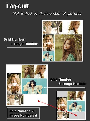 Collage Maker (Layout Grid) - PhotoFancie screenshot 8