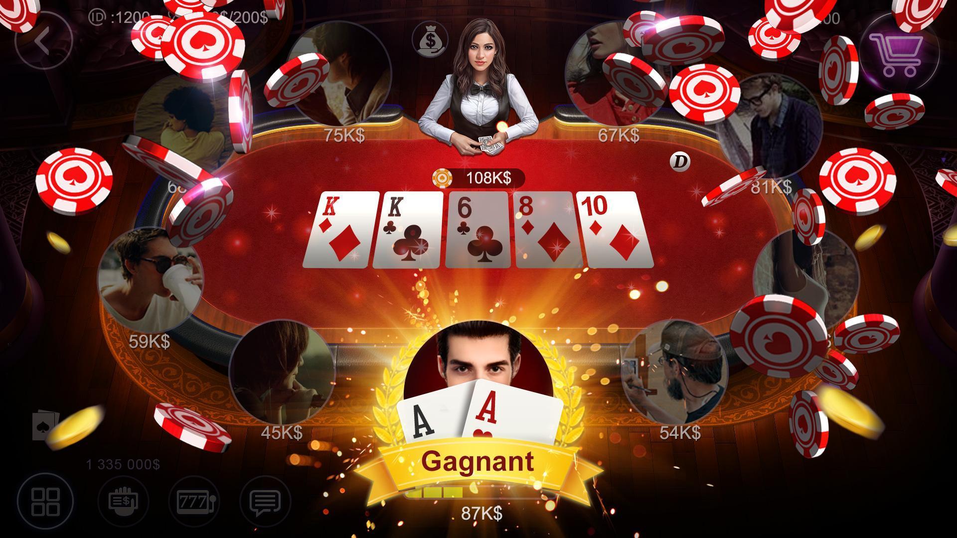 Poker France HD – Artrix Poker 1 تصوير الشاشة