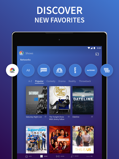 The NBC App - Stream Live TV and Episodes for Free screenshot 13