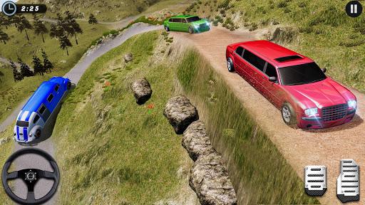 Big City Limo Car Driving Simulator : Taxi Driving 3 تصوير الشاشة