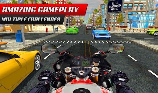 Highway Rider Bike Racing: Crazy Bike Traffic Race screenshot 6