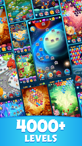 Angry Birds POP Bubble Shooter 2 تصوير الشاشة