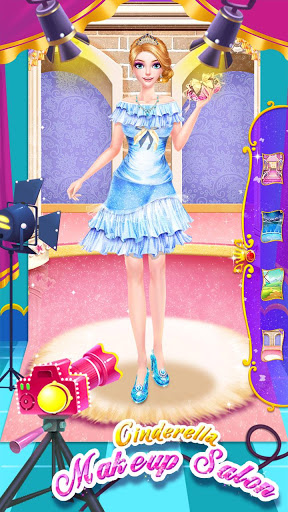 💄👗Cinderella Fashion Salon - Makeup & Dress Up screenshot 8