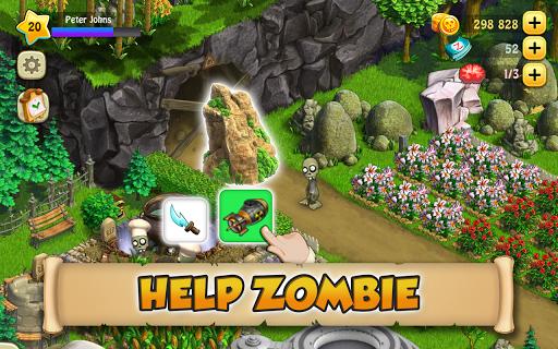 Zombie Castaways 1 تصوير الشاشة