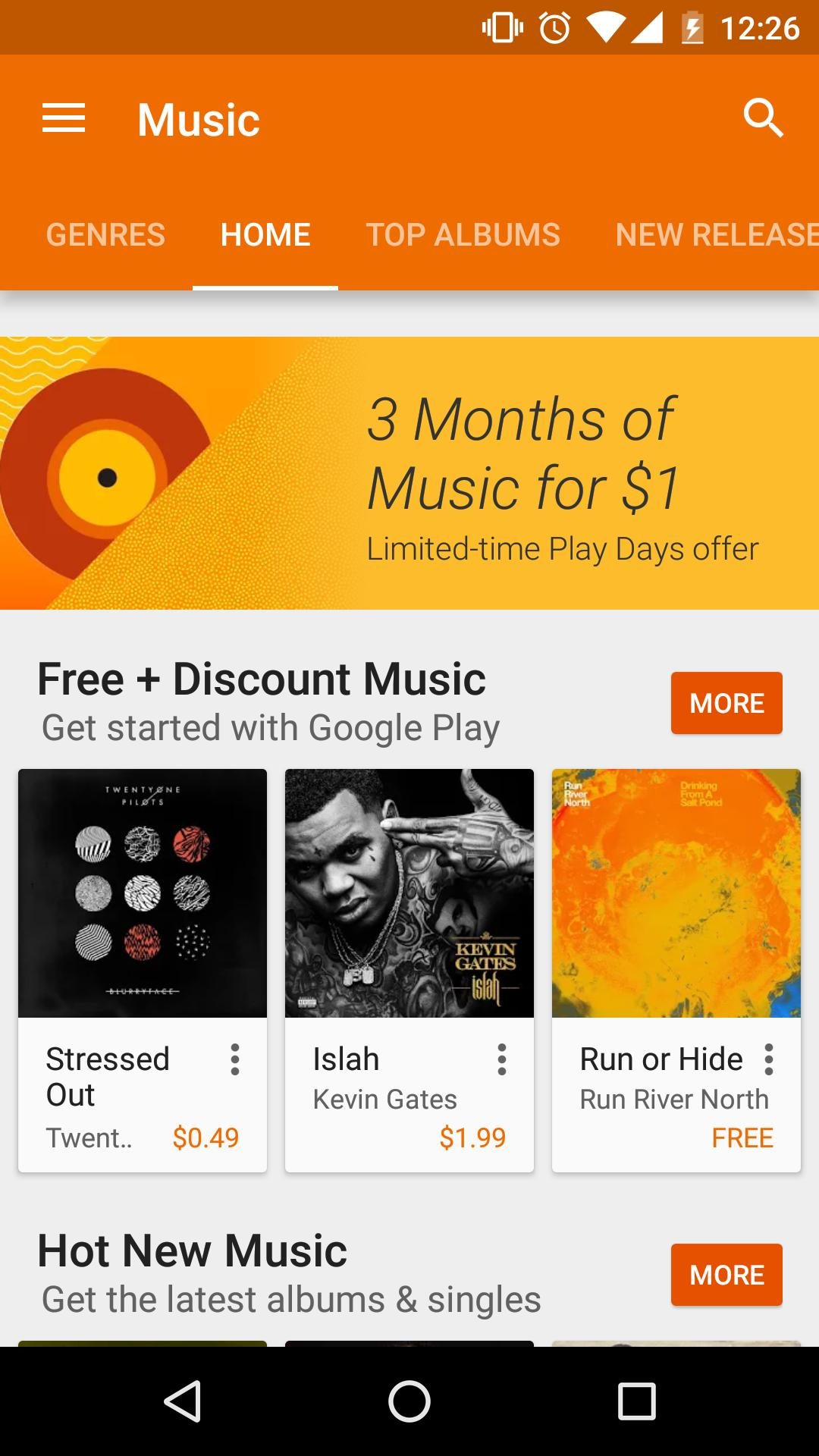 Google Play Store 6 تصوير الشاشة