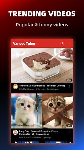 Vanced Tuber - Advanced Video Tube and Block ADs screenshot 6