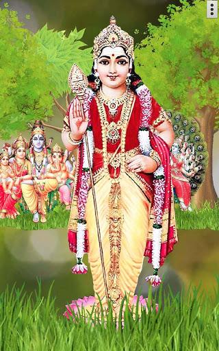 4D Lord Murugan Live Wallpaper screenshot 5