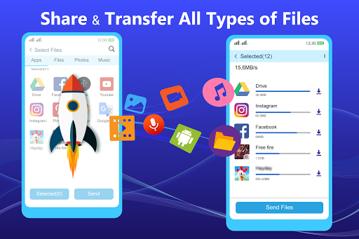 Share - File Transfer & Connect 1 تصوير الشاشة