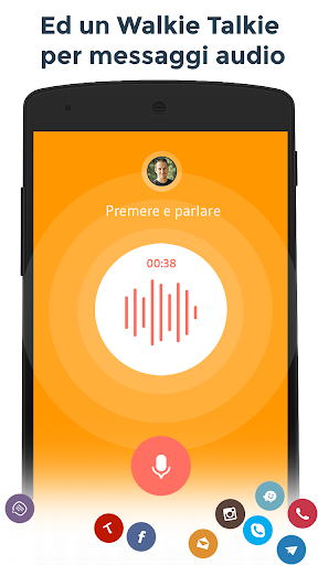Contatti & Telefono - drupe screenshot 5