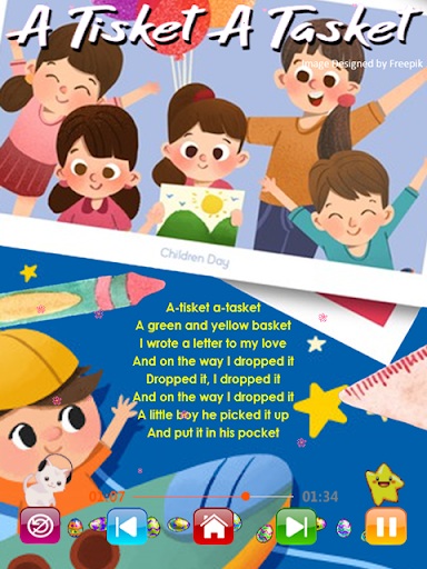 Kids Songs - Offline Nursery Rhymes & Baby Songs screenshot 3