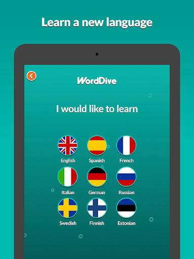WordDive: Learn English, Spanish, German and more screenshot 7