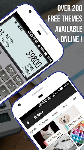 Calculator - CASIO style Multi calc with Remainder screenshot 2