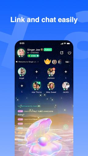 Haya - Group Voice Chat App screenshot 2
