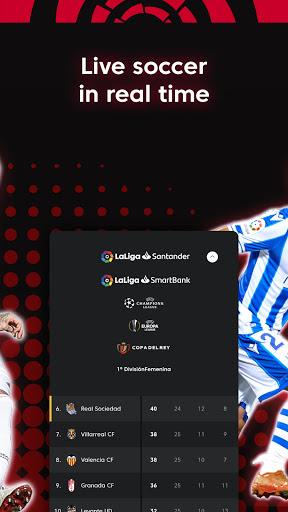 La Liga Official App - Live Soccer Scores & Stats स्क्रीनशॉट 5