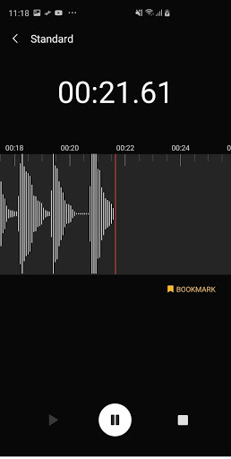 Samsung Voice Recorder screenshot 7