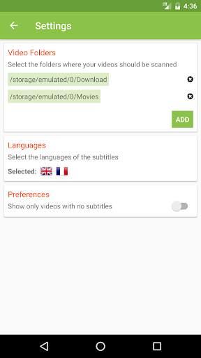 ترجمات افلام: العثور على ترجمات لأفلامك screenshot 3