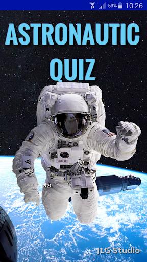 Astronautic Quiz 1 تصوير الشاشة