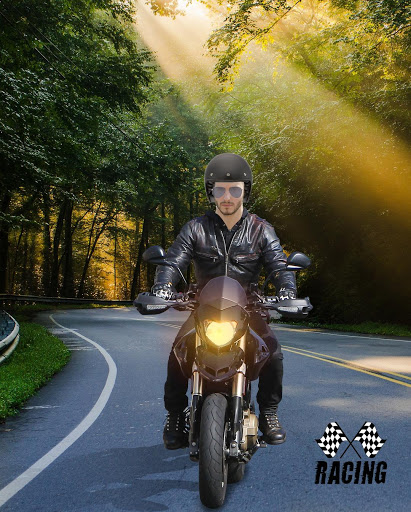 Man Bike Rider Photo Editor screenshot 5