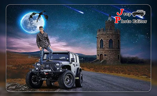 Jeep Photo Editor : Stylish Jeep photo maker 5 تصوير الشاشة
