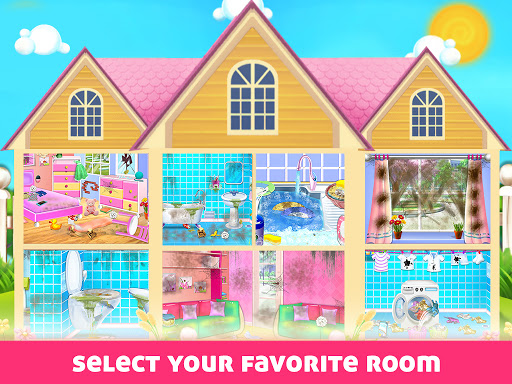 House Cleaning - Home Cleanup Girls Game screenshot 1