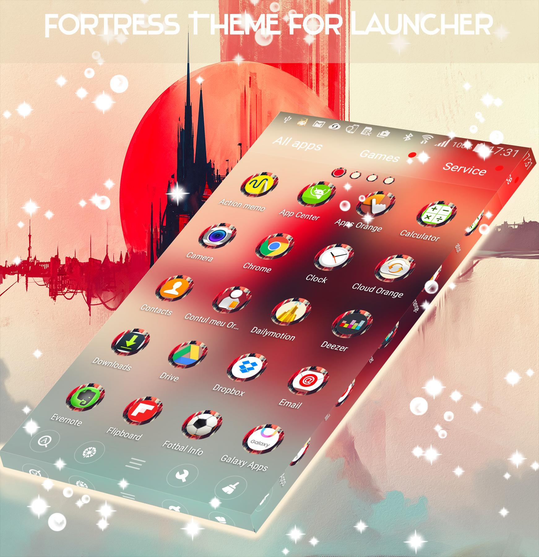 Fortress Theme for Launcher screenshot 4