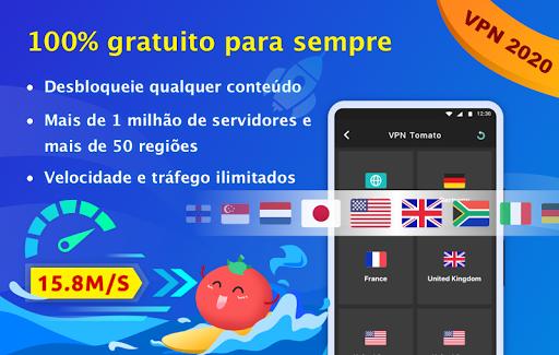 Free VPN Tomato|Proxy VPN de hotspot grátis rápido screenshot 1
