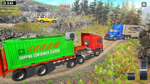 Offroad Indian Truck Driver:3D Truck Driving Games screenshot 3