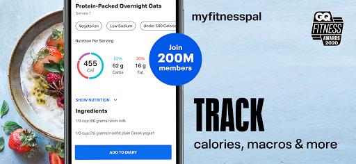 Calorie Counter - MyFitnessPal screenshot 1
