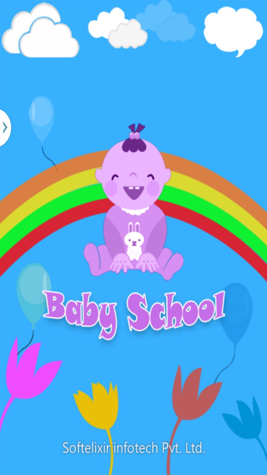 Baby School - Educational app screenshot 1