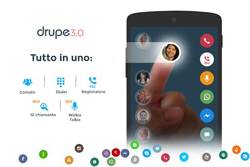 Contatti & Telefono - drupe screenshot 1