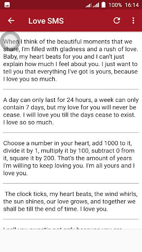 Love SMS Text Messages screenshot 3
