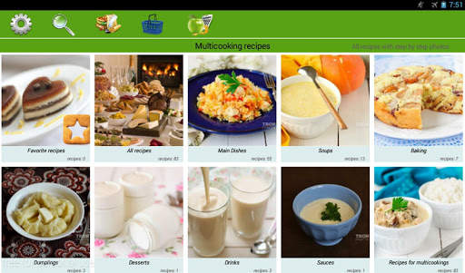 Multicooking recipes screenshot 5