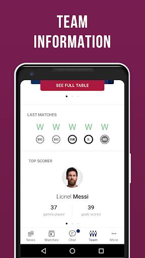 Barcelona Live — Not official app for FC Barca Fan screenshot 5