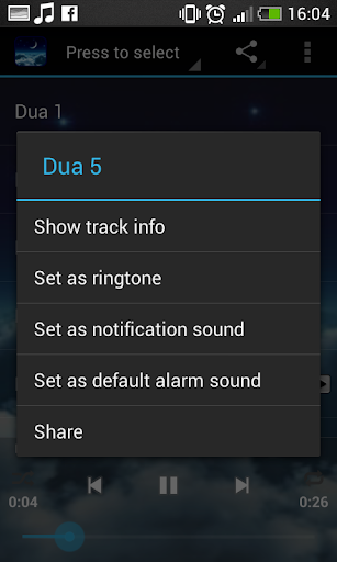 Dua Islamic Ringtone screenshot 8