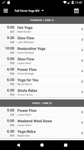 Full Circle Yoga WV screenshot 3