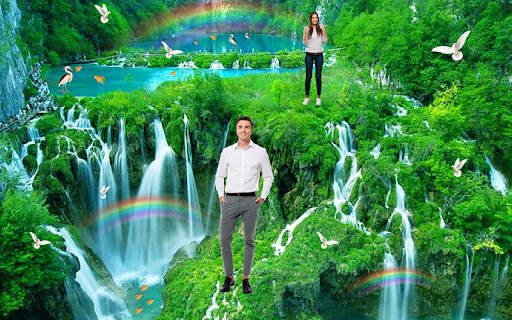 Waterfall Photo Editor and Photo Frames 2 تصوير الشاشة