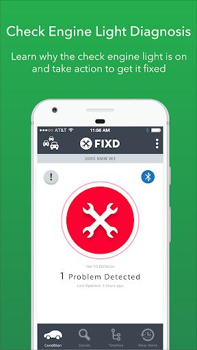 FIXD - Vehicle Health Monitor screenshot 1