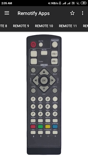 GTPL Remote Control (15 in 1) screenshot 6