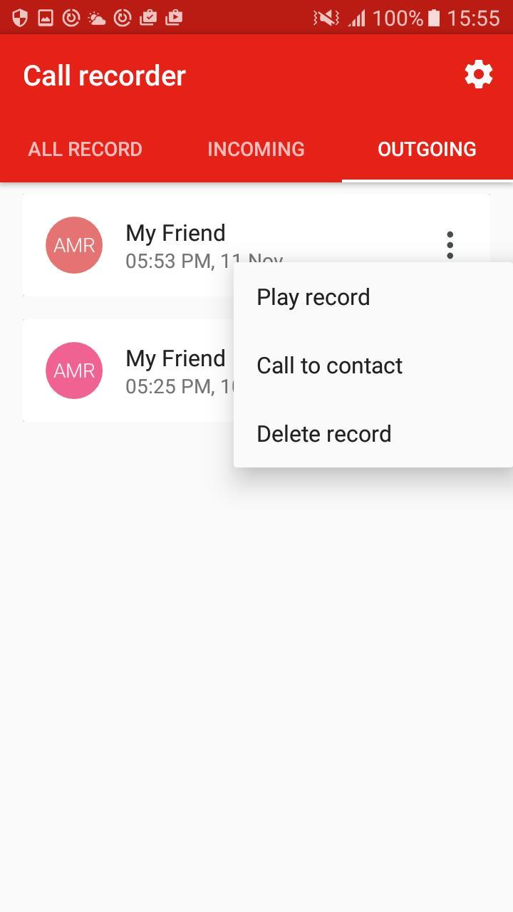 Call Recorder screenshot 8