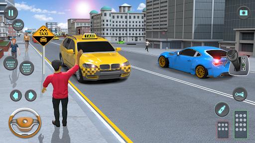 City Taxi Driving simulator: PVP Cab Games 2020 screenshot 4