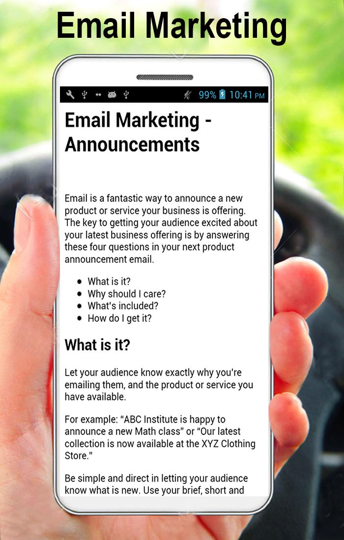 Email Marketing Guidelines (A to Z) 2 تصوير الشاشة