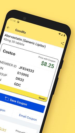 GoodRx: Prescription Drugs Discounts & Coupons App 2 تصوير الشاشة
