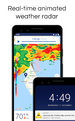 NOAA Weather Radar Live & Alerts – Clime screenshot 1