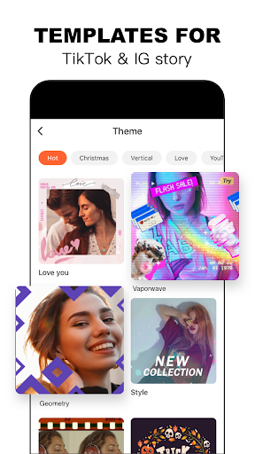 Video Editor & Video Maker - VivaVideo screenshot 4