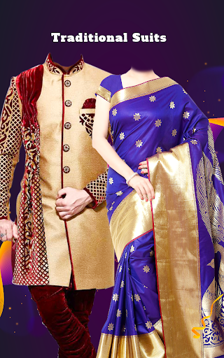 Couple Tradition Photo Suits - Traditional Dresses screenshot 3