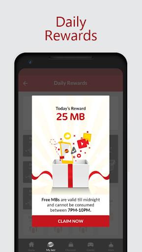 Jazz World - Manage Your Jazz Account स्क्रीनशॉट 8